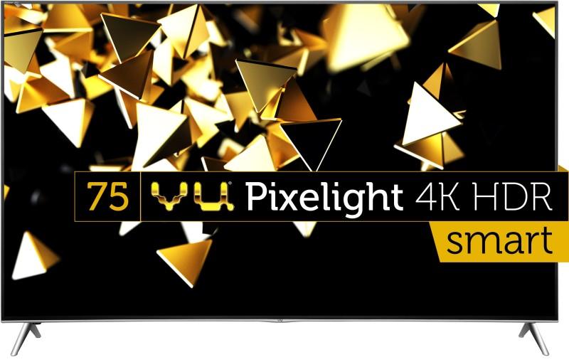 Vu 190cm (75 inch) Ultra HD (4K) LED Smart TV(H75K700)