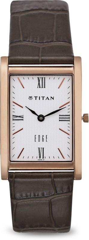 Titan NH1043WL01 Edge Analog Watch - For Men
