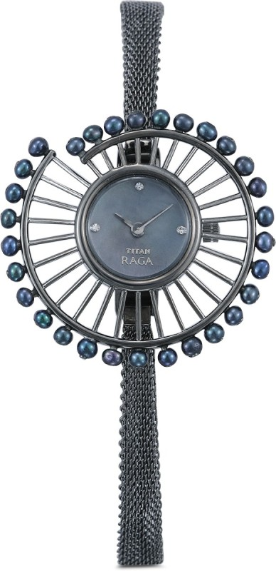 Titan 9970QM01 Raga Analog Watch - For Women