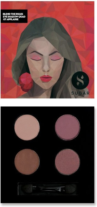 Sugar Cosmetics Blend The Rules Eyeshadow Quad Applause 5 g(07 Applause)