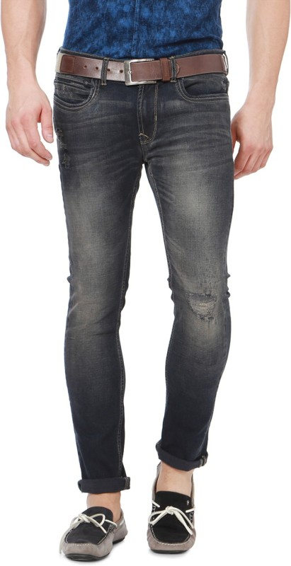 Peter England Regular Men Black Jeans