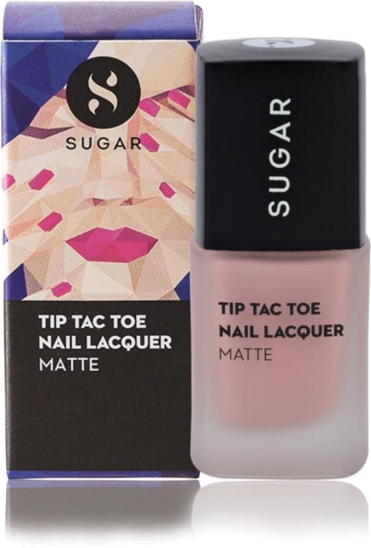 Sugar Cosmetics Tip Tac Toe Nail Lacquer 023 Blush-A-Bye Baby (Matte Pastel Baby Pink)(10 ml)