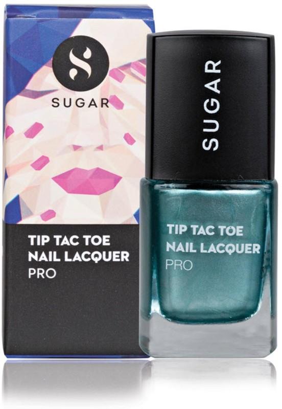 Sugar Cosmetics Tip Tac Toe Nail Lacquer 043 Deep Down Diopside (Metallic Emerald Green)(10 ml)