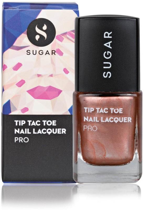 Sugar Cosmetics Tip Tac Toe Nail Lacquer 040 Rust For The Record (Metallic Copper)(10 ml)