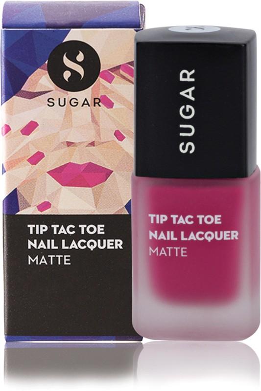 Sugar Cosmetics Tip Tac Toe Nail Lacquer 033 Mad Magenta (Magenta)(10 ml)