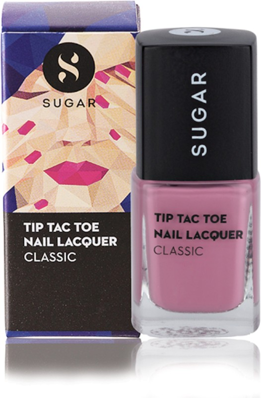 Sugar Tip Tac Toe Nail Lacquer 004 Mauve Mountains Dusty Grey