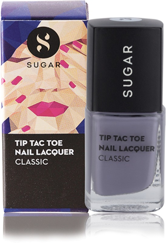 Sugar Tip Tac Toe Nail Lacquer 010 Grays of God (Lavender)