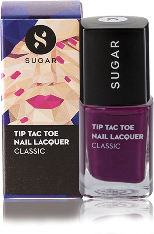Sugar Tip Tac Toe Nail Lacquer 014 Purple Prose Purple