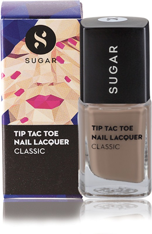 Sugar Tip Tac Toe Nail Lacquer 011 Cream Come True Brown Nude