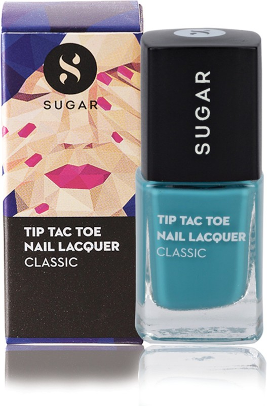 Sugar Tip Tac Toe Nail Lacquer 025 Jack Of All Jades (Aqua Green)