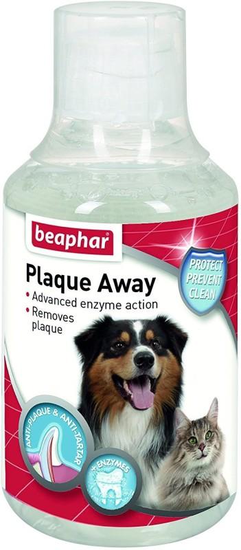 beaphar Plaque Away Dental Care 250ml Pet Mouth Freshner(dogs, cats 250 ml)