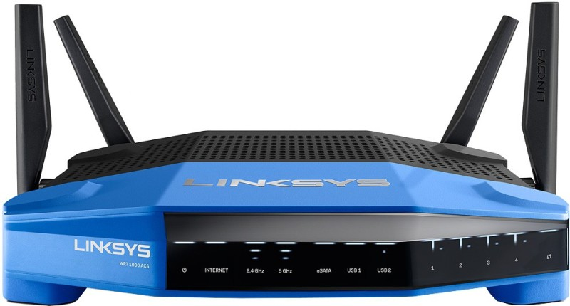 Linksys WRTACS-EU Router(Black, Blue)
