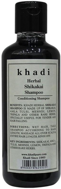 Khadi Herbal Shikakai Shampoo(210 ml)