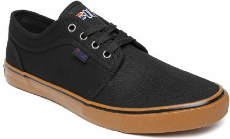 Fila DORIT Canvas Shoes For Men(Black)