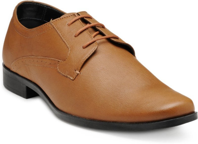 FRANCO LEONE 15045 Lace Up For Men(Tan)