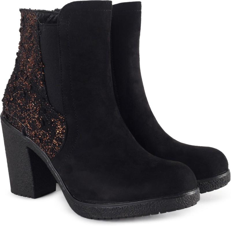 Catwalk Boots For Women(Black)