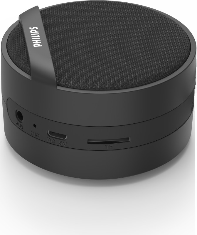 Philips BT40 3 W Portable Bluetooth Speaker(Black, Mono Channel)