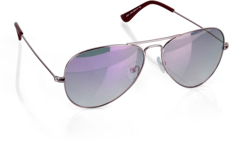 IDEE Aviator Sunglasses(Violet)