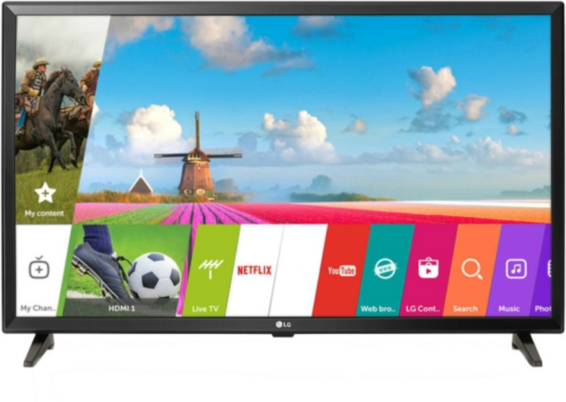 LG 80cm (32 inch) HD Ready LED Smart TV(32LJ618U)