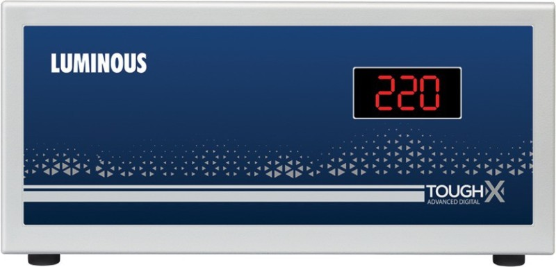 Luminous ToughX TT90D1 Voltage Stabilizer Suitable for TV+DTH (90V-280V)(Grey)