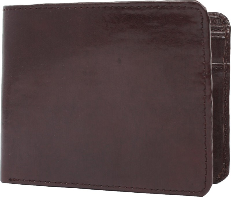 Chisel Men Brown Artificial Leather Wallet(3 Card Slots)