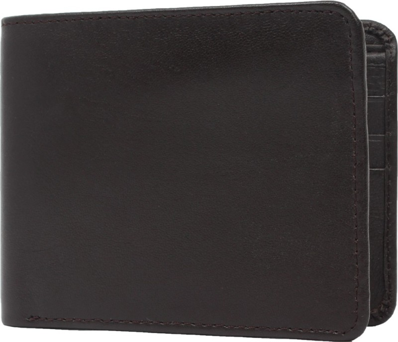 Chisel Men Black Genuine Leather Wallet(6 Card Slots)