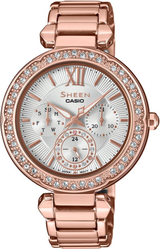 Casio SX211 Sheen Analog Watch - For Women
