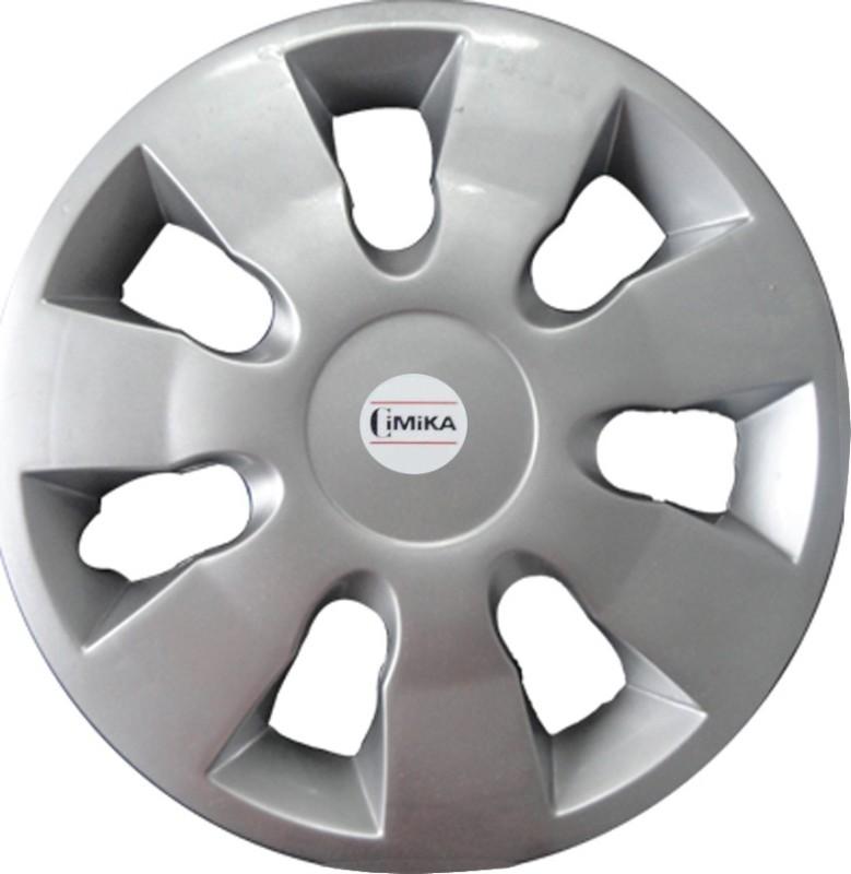 CIMIKA 13 GLOSSY SILVER WHEEL COVER FOR SUZUKI WAGON-R Wheel Cover For Maruti WagonR(13 cm)