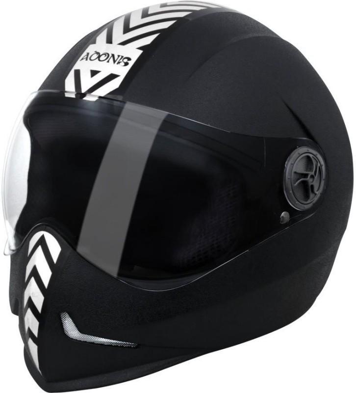 Steelbird SB-50 Motorbike Helmet(Black)