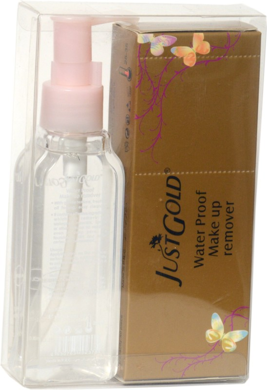 just gold water proof make up remover Makeup Remover(115 ml)