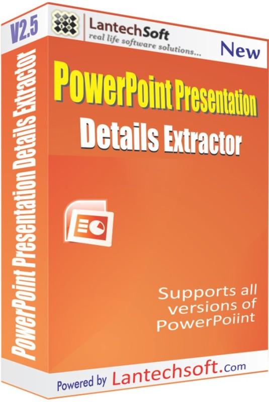 Lantech Soft PowerPoint Details Extractor(3)