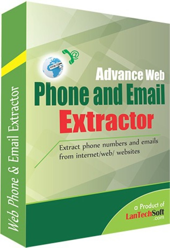 Lantech Soft Advance Web Phone and Email Extractor(3)