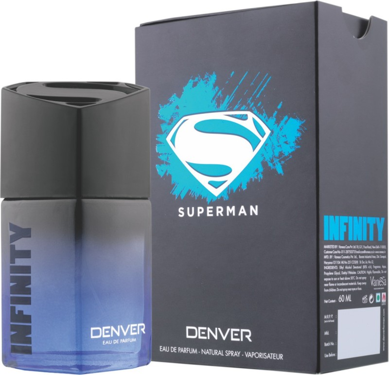 Denver Superman Eau de parfum- Infinity Eau de Parfum - 60 ml(For Men)