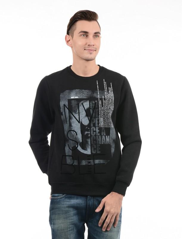 Monte Carlo Full Sleeve Printed Men Sweatshirt