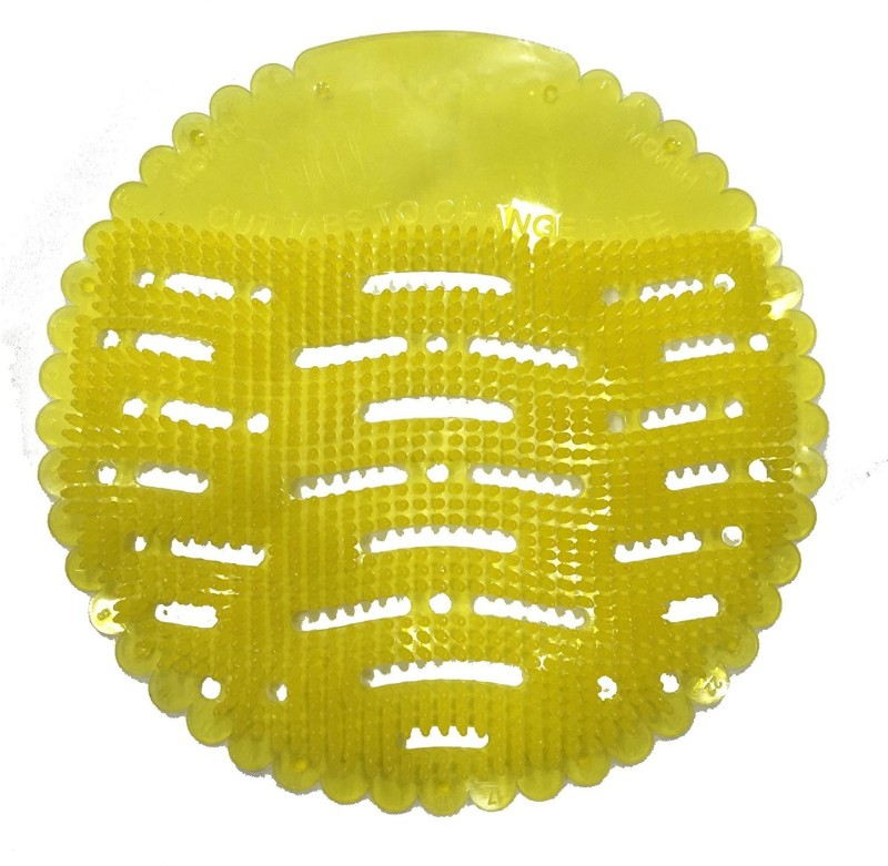 URINAL SCREEN AMB-URINAL03 Lemon Rim Block(10 Wipes, Pack of 10)