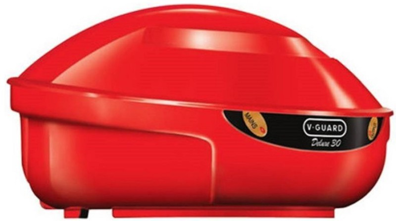 V-Guard VGD 30 COMPACT & HEAVY DUTY Voltage Stabilizer (OMSAIRAMTRADERS)(Red)