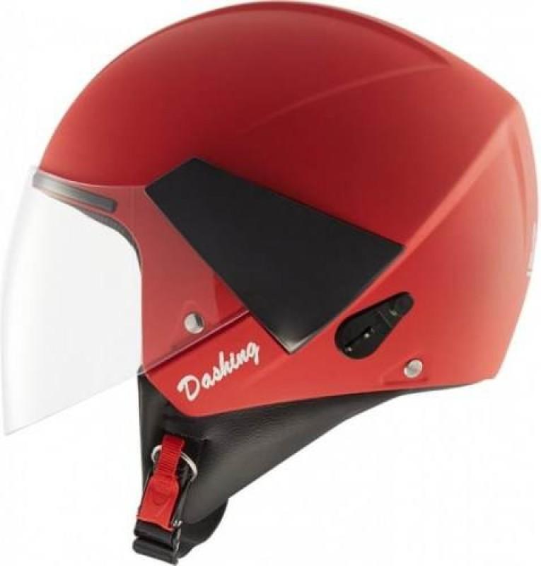 Steelbird Steelbird SB- 33 Eve White Motorbike Helmet Red Motorbike Helmet(Red)