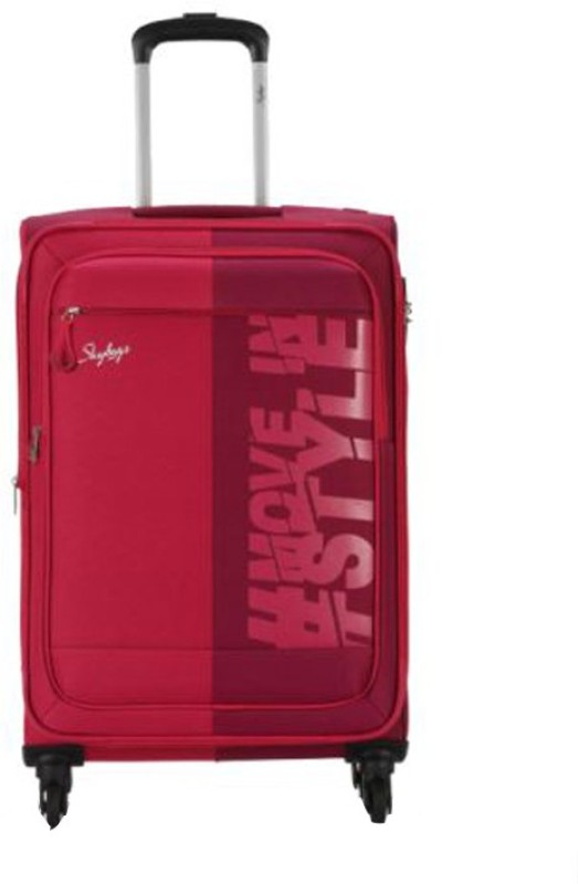 Skybags Tanslite Expandable Cabin Luggage - 22 inch(Red)