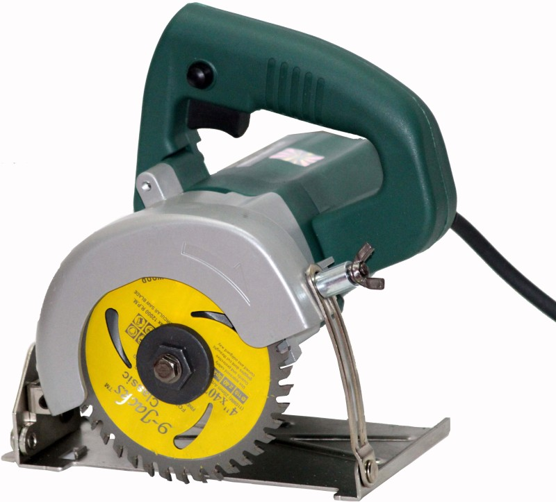 Digital Craft KOBALT Industrial (125mm) 5 Tile / Wood Cutter Machine With Free TCT Cutting Blades. Handheld Tile Cutter(1500 W)