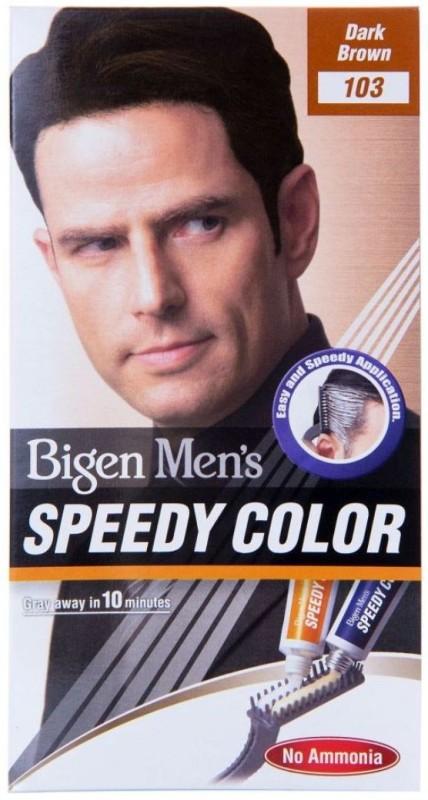 Bigen Men's Speedy Color 103 Hair Color(Dark Brown)