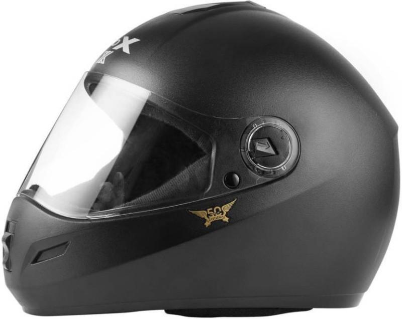 Steelbird Steelbird Rox Motorbike Helmet (Black) L Motorbike Helmet(Black)