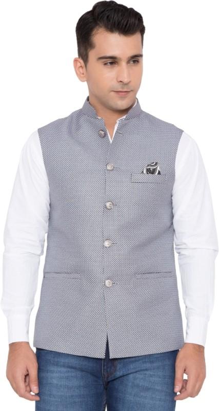 House Of Sensation Sleeveless Solid Mens Jacket