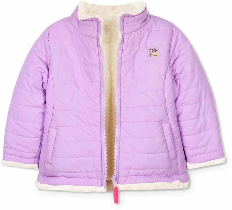 Cherry Crumble California Full Sleeve Solid Boys & Girls Jacket
