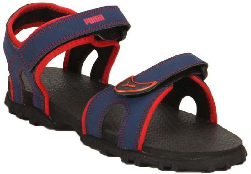 Puma Boys Velcro Strappy Sandals(Blue)