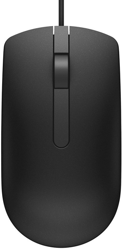 Dell MS 116 USB MOUSE Wired Optical Gaming Mouse(USB, Black)