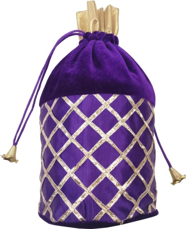 Angelfish AELKMB0812 Potli(Purple)