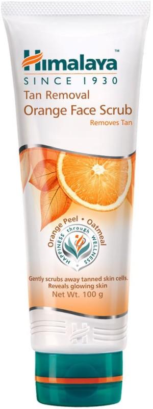 Himalaya Tan Removal Orange Face Scrub(100 g)