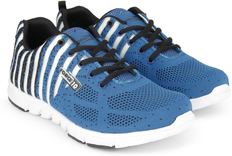 Force 10 Running Shoes For Women(Blue)