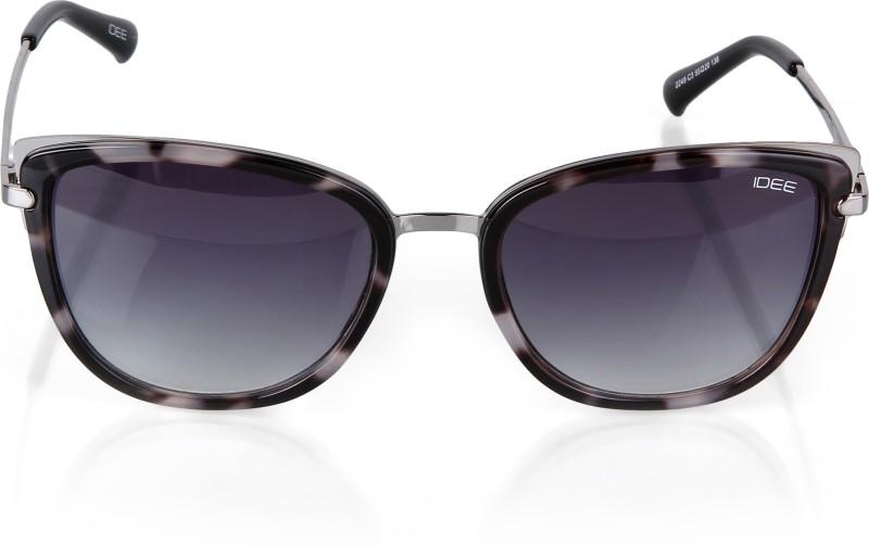 IDEE Rectangular Sunglasses(Blue)