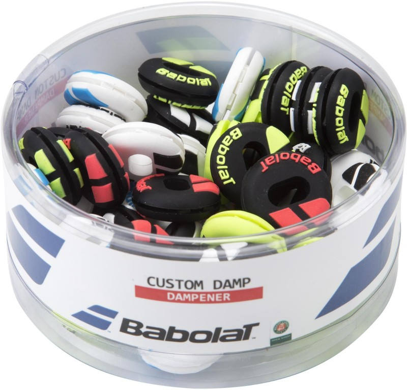 Babolat CUSTOM DAMP BOX x48(Multicolor, Pack of 48)